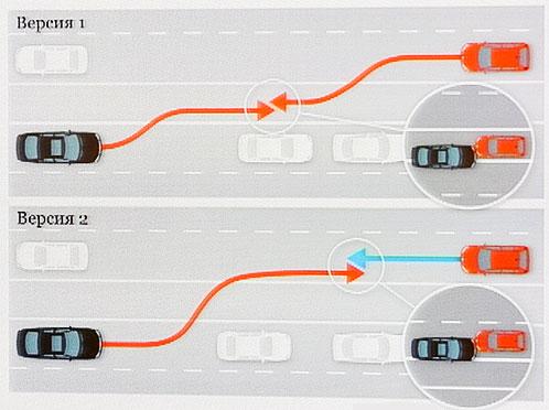 Схема аварии, составленная Союзом автомобилистов Фото: Михаил ФРОЛОВ.